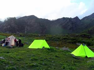 Solang Valley Camping