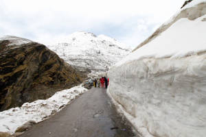 Snow Point Rohtang Pass
