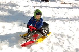 Snow Scootering